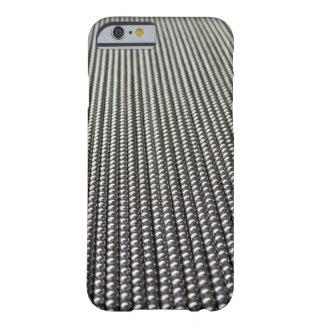 Cortina del metal funda de iPhone 6 barely there
