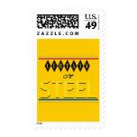Cortina del sello amarillo de acero