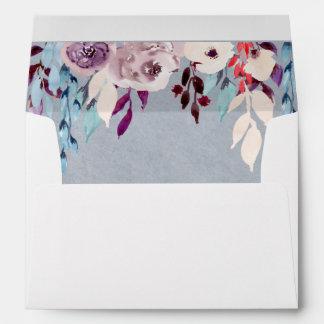 Cortina floral A7 5,25 x sobre 7,25