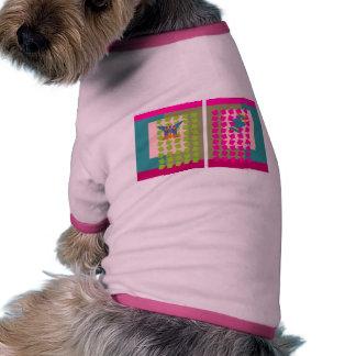 Cortina mágica camisetas de perrito