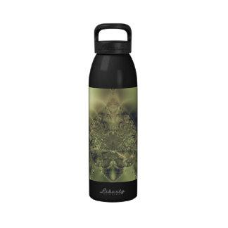 Cortina metálica botella de agua