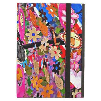 Cortina moldeada multicolora