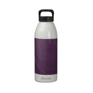 Cortina púrpura botella de agua