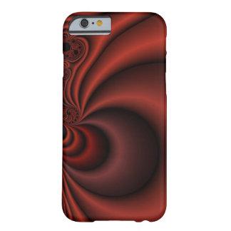 Cortina roja funda de iPhone 6 barely there