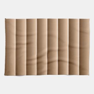 Cortinas de oro toallas