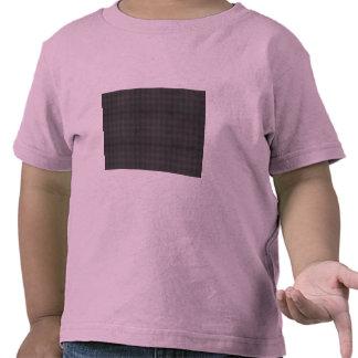 Cortinas espirales azules abstractas camiseta