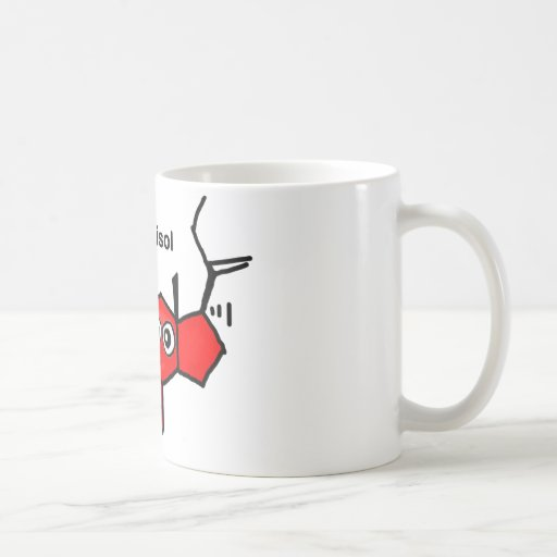 Cortisol Classic White Coffee Mug