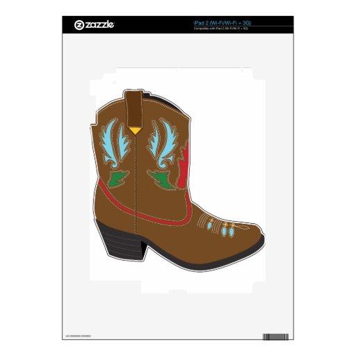 Cortocircuito de las botas de vaquero calcomanía para iPad 2