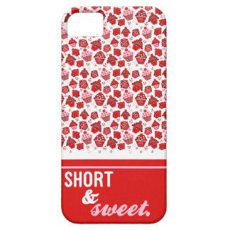 Cortocircuito y dulce iPhone 5 carcasas