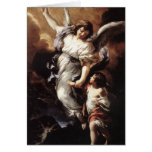 Cortona: The Guardian Angel, Greeting Card