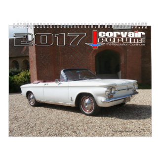 Corvair Forum Wall calendar