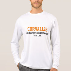 Corvallis, Or T-shirt at Zazzle