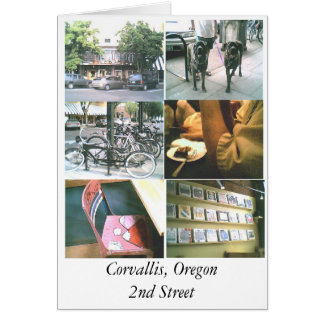 Corvallis, Oregon Card