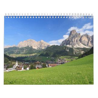 Corvara - Val Badia Calendar