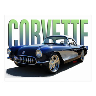 Corvette 1956 postal