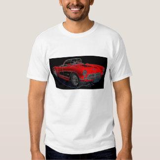 Corvette 1957 playeras
