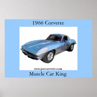 Corvette 1966 impresiones