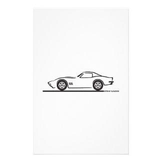 Corvette 1970-72 papeleria personalizada