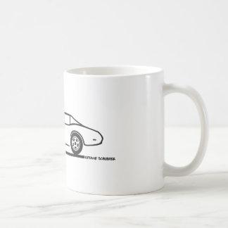 Corvette 1974 - 1977 tazas de café