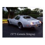 Corvette 1975 postales