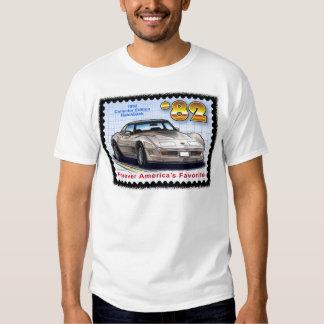 Corvette 1982 de la ventana trasera de la edición poleras
