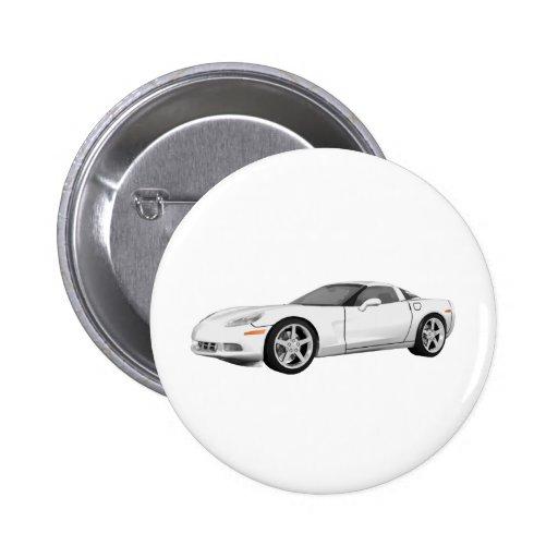 Corvette 2008: Coche de deportes: Final blanco: Pins