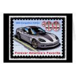 Corvette 2009 de la edición de la competencia tarjetas