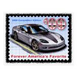 Corvette 2009 de la edición de la competencia tarjetas postales