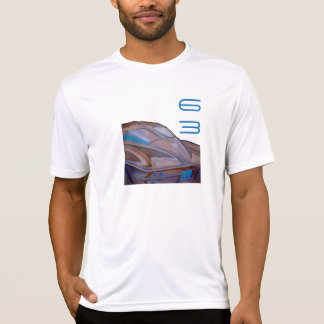 """Corvette 63"" Men's Fitted Crew Neck T-Shirt"