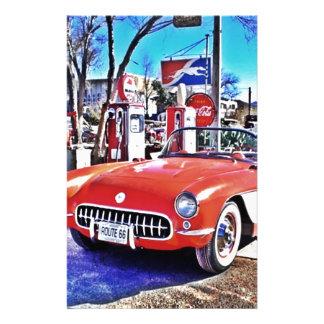 Corvette 66 papelería personalizada