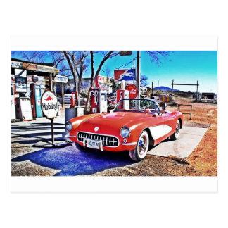 Corvette 66 postcard