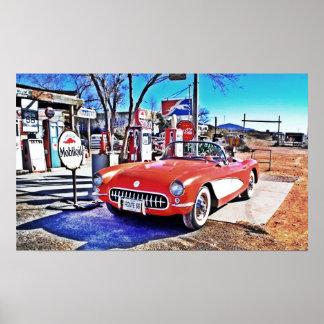 Corvette 66 poster