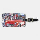 Corvette 66 travel bag tags