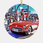 Corvette 66 weihnachtsbaum ornamente