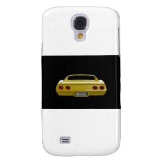 Corvette amarillo samsung galaxy s4 cover