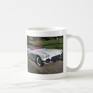 Corvette antique cars classic autos vintage cars coffee mug