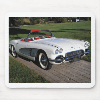 Corvette antique cars classic autos vintage cars mouse pad