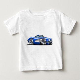 Corvette Blue Car Baby T-Shirt