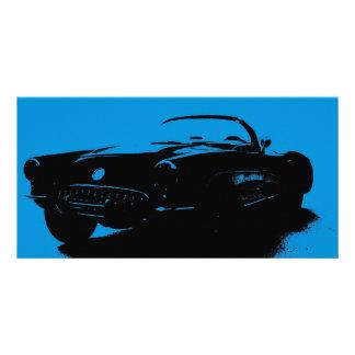Corvette Bookmark Card