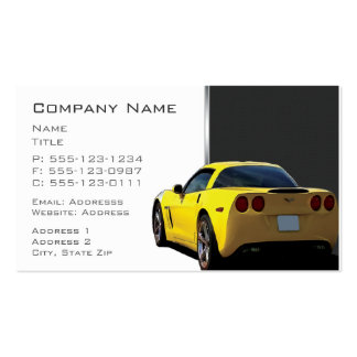 Corvette Business Cards