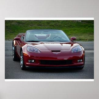 Corvette C6 Grand Sport Convertible Posters