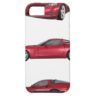 Corvette: Candy Apple Finish iPhone SE/5/5s Case