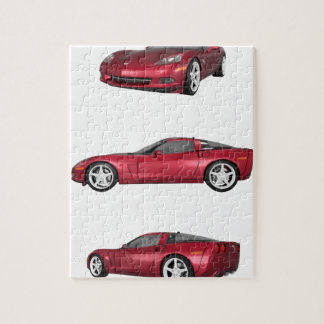 Corvette: Candy Apple Finish Jigsaw Puzzle