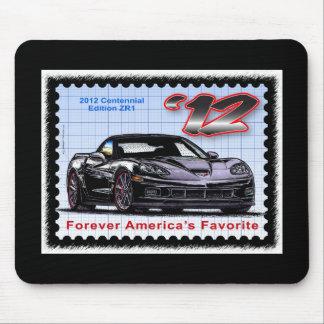 Corvette centenario de la edición 2012 Z06 Mousepad