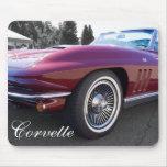 Corvette clásico de la pastinaca tapete de ratones
