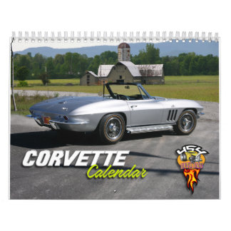 Corvette Collection Calendar