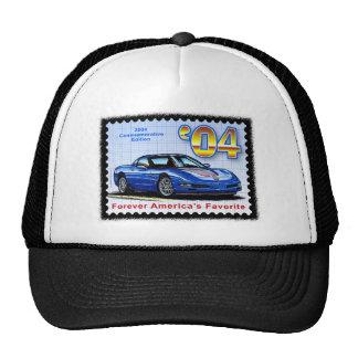 Corvette conmemorativo de la edición 2004 gorras de camionero