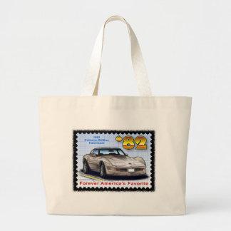Corvette de la edición especial 1982 bolsa tela grande