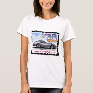 Corvette de plata de la edición del aniversario playera