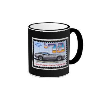Corvette de plata de la edición especial del anive tazas de café
